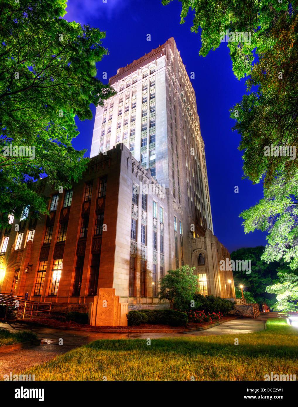 City Hall in Atlanta, Georgia, USA. - Stock Image
