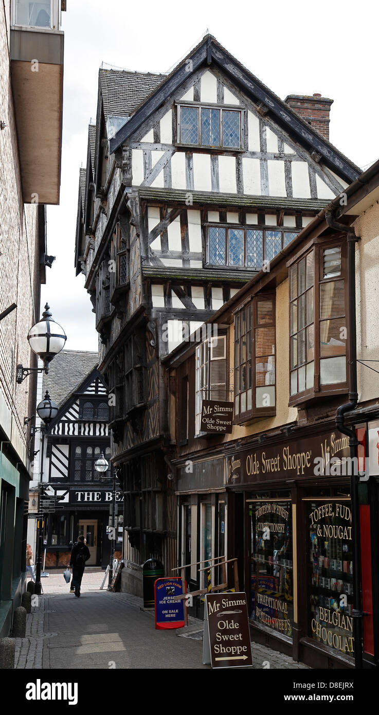 the-ancient-high-house-greengate-street-stafford-staffordshire-from-D8EJRX.jpg