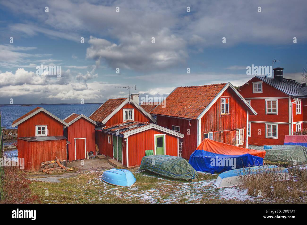 Swedish Houses Stock Photos Amp Swedish Houses Stock Images