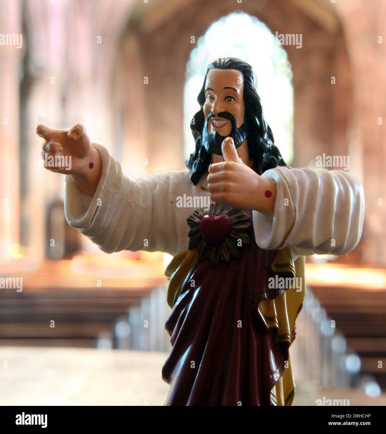 Buddy,Christ,is,a,parody,religious,icon,in,the,film,In,the,film,he,is,part,of,a,campaign,Catholicism,Wow!,to,renew,the,image,of,(and,interest,in),the,Catholic,Church.,Viewing,the,crucifix,image,as,wholly,depressing,the,Church,led,by,Cardinal,Glick,George,Carlin,decides,to,retire,it,catholics,gotonysmith,humour,humorous,humor,comedy,funny,fun,joke,jokes,taboo,taboos,religion,religion,religious,blasphemy,buddychrist,Jesus,Saviour,prophet,icon,iconic,Buy Pictures of,Buy Images Of