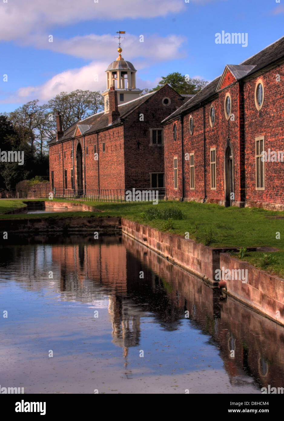 Masey,Cheshire,deer,park,national,trust,reflection,reflections,Stanford,Stamford,WA14,4SJ,WA144SJ,Georgian,house,Catherine,Cocks,Warrington,house,water,millpond,pool,water,garden,rose,old,buildings,architecture,fine,places,to,visit,tourist,tourism,gotonysmith,Buy Pictures of,Buy Images Of