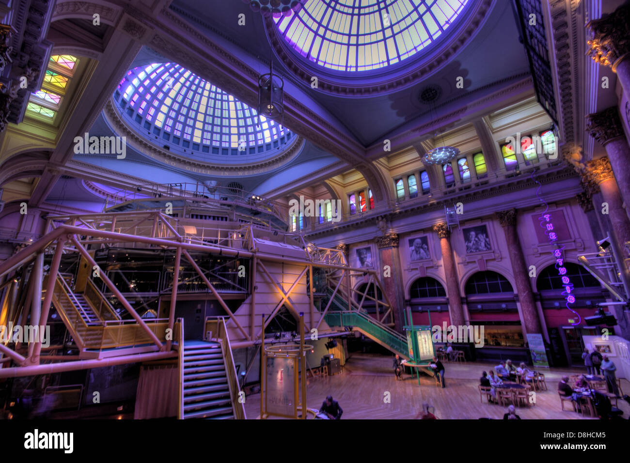 Inside,Corn,cornexchange,cotton,king,kingcotton,cottonopolis,drama,comedy,show,shows,gradeII,grade2,anns,stained,glass,dome,domed,domes,Mills,&,Murgatroyd,pod,Lancs,building,St Anns Square Manchester Lancashire England UK Purple,Gotonysmith St Anns Square,Exchange Street,Market Street,Cross Street and Old Bank Street,Mancester,@HotpixUK,Tony,Smith,UK,GB,Great,Britain,United,Kingdom,English,British,England,English,England,Shakespeare,tourism,tourist,tour,destination,city,centre,Mancunian,Manc,Buy Pictures of,Buy Images Of,Stock Images,Tony Smith,United Kingdom,Great Britain,British Isles,Manchester City Centre