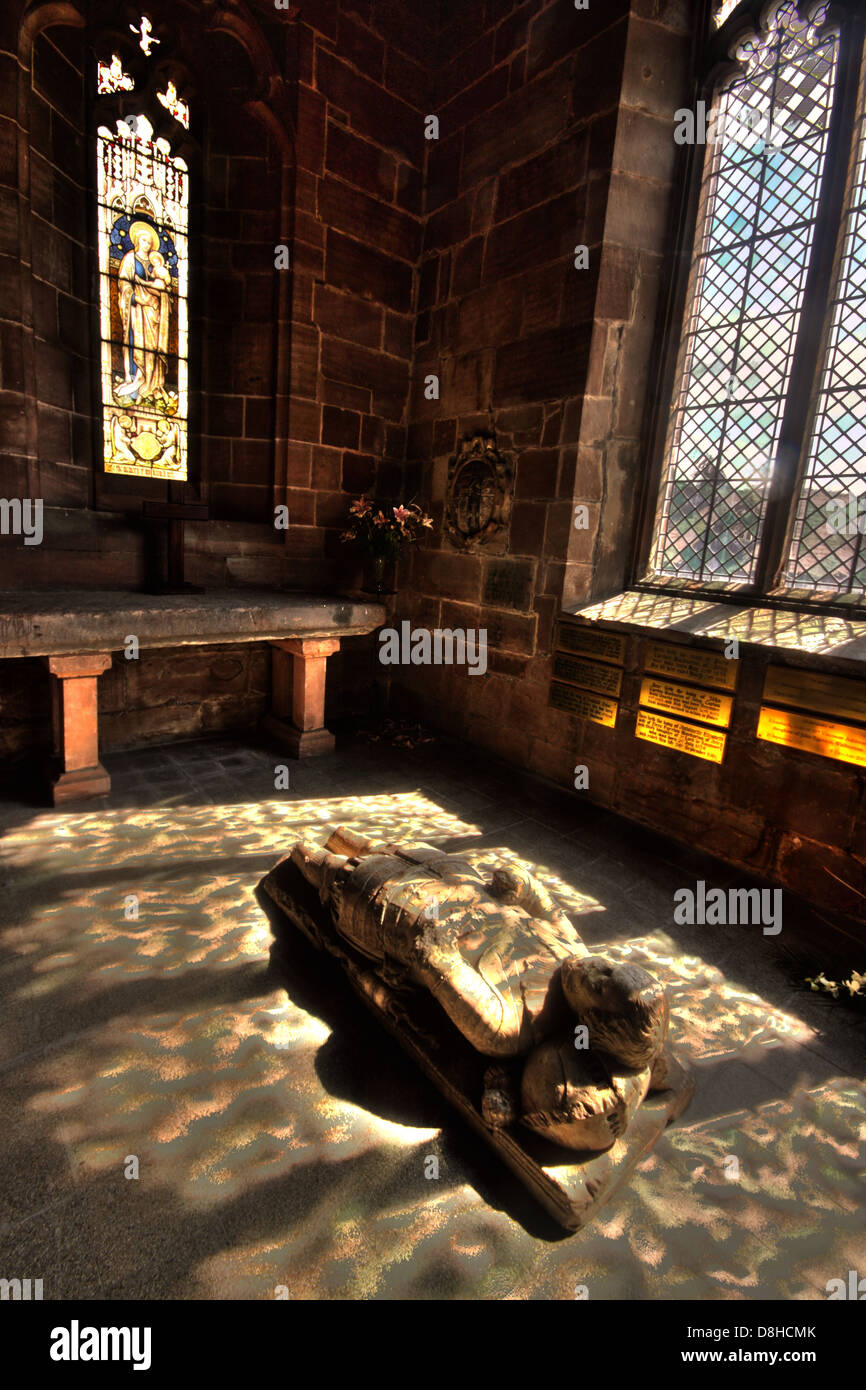 Great,Britain,GN,in,small,chapel,GT,Budworth,Cheshire,England,UK,Northwich,window,stained,glass,dappled,sunlight,falling,on,floor,sun,sunlight,Domesday,Book,reference,record,old,history,historic,Augustinian,Canons,of,Norton,Priory,Runcorn Chester Perpendicular ecclesiastical architecture village,Gotonysmith,Warburton,Chapel,off,the,south,aisle,has,an,alabaster,effigy,of,Sir,John,Warburton,of,Arley,who,died,in,1575,Buy Pictures of,Buy Images Of
