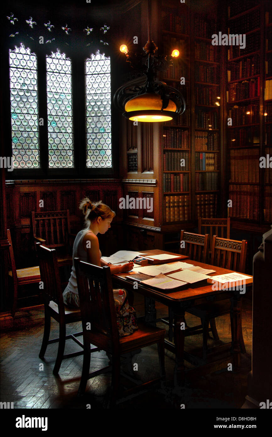 Rylands,victorian,old,history,historic,female,student,girl,lady,woman,late-Victorian,neo-Gothic,building,neo,gothic,tourism,tourist,public,Enriqueta,Augustina,Rylands,University,of,Special,collections,collection,England,English,UK,GB,Great,Britain,Elizabeth,Gaskell,and,John,Dalton,reading,room,gotonysmith,architectural,style,architecture,Grade,I,listed,status,imanc,Art,Nouveau,bronze,railings,Electric,lighting,collection,collections,study,Librarians,Librarian,M3,3EH,M33EH,Buy Pictures of,Buy Images Of
