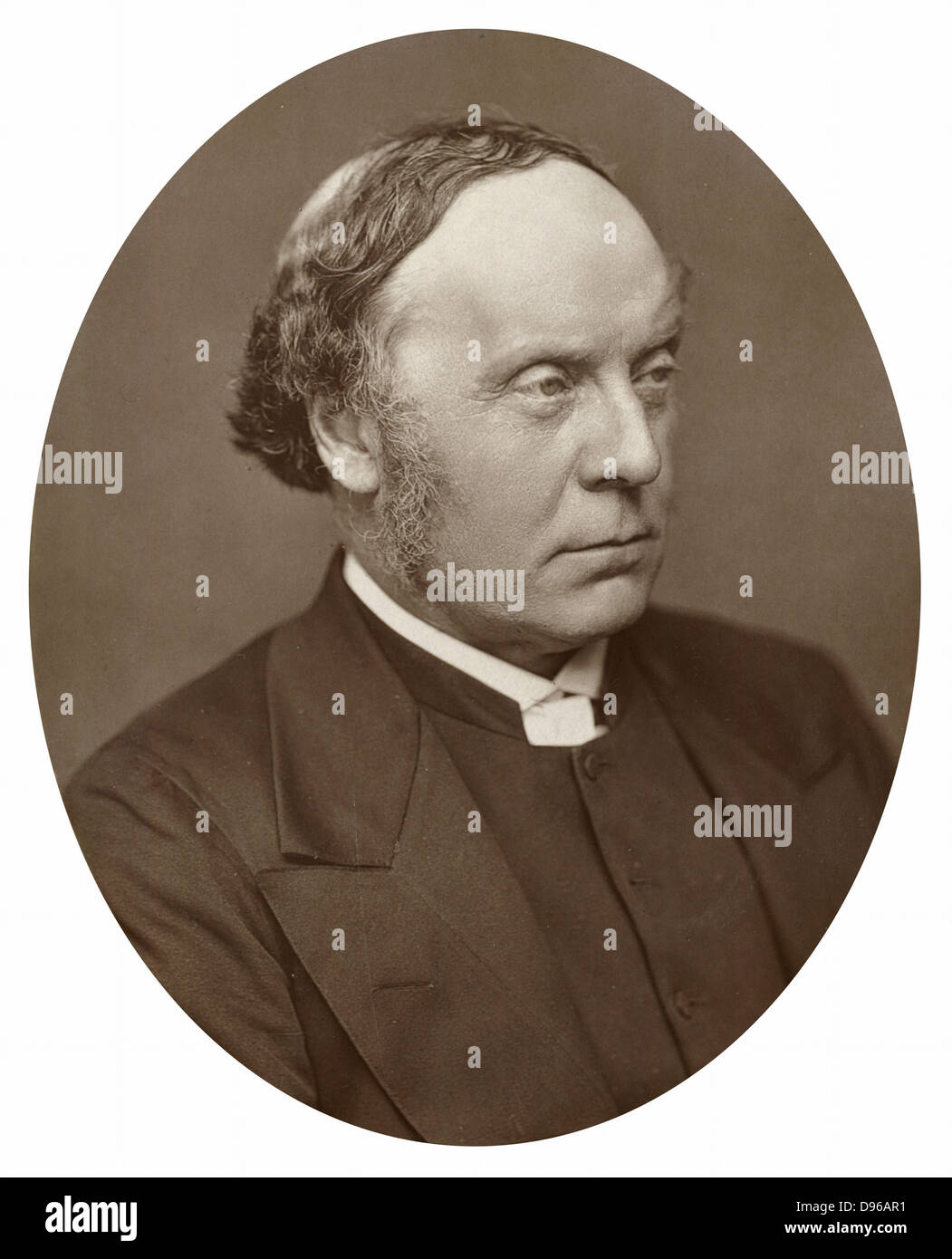 Alfred Barry (1826-1910) English clergyman and scholar; son of architect Sir Charles Barry, Archbishop of Sydney - Stock Image
