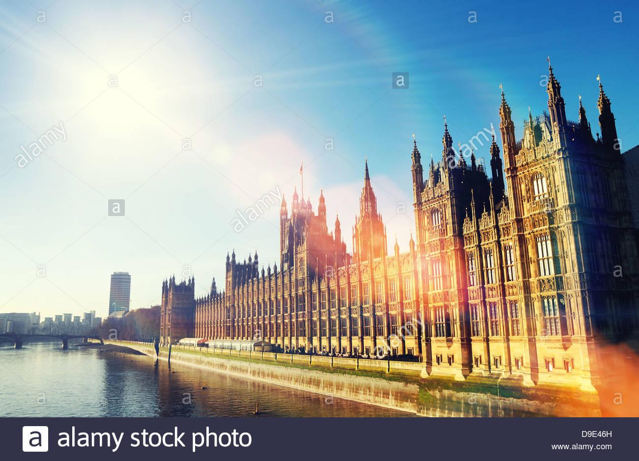 sunshine parliament - Stock Image