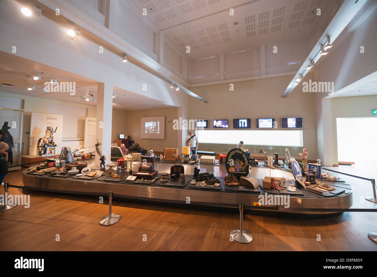 National Museum, Reykjavik, Iceland, Polar Regions - Stock Image