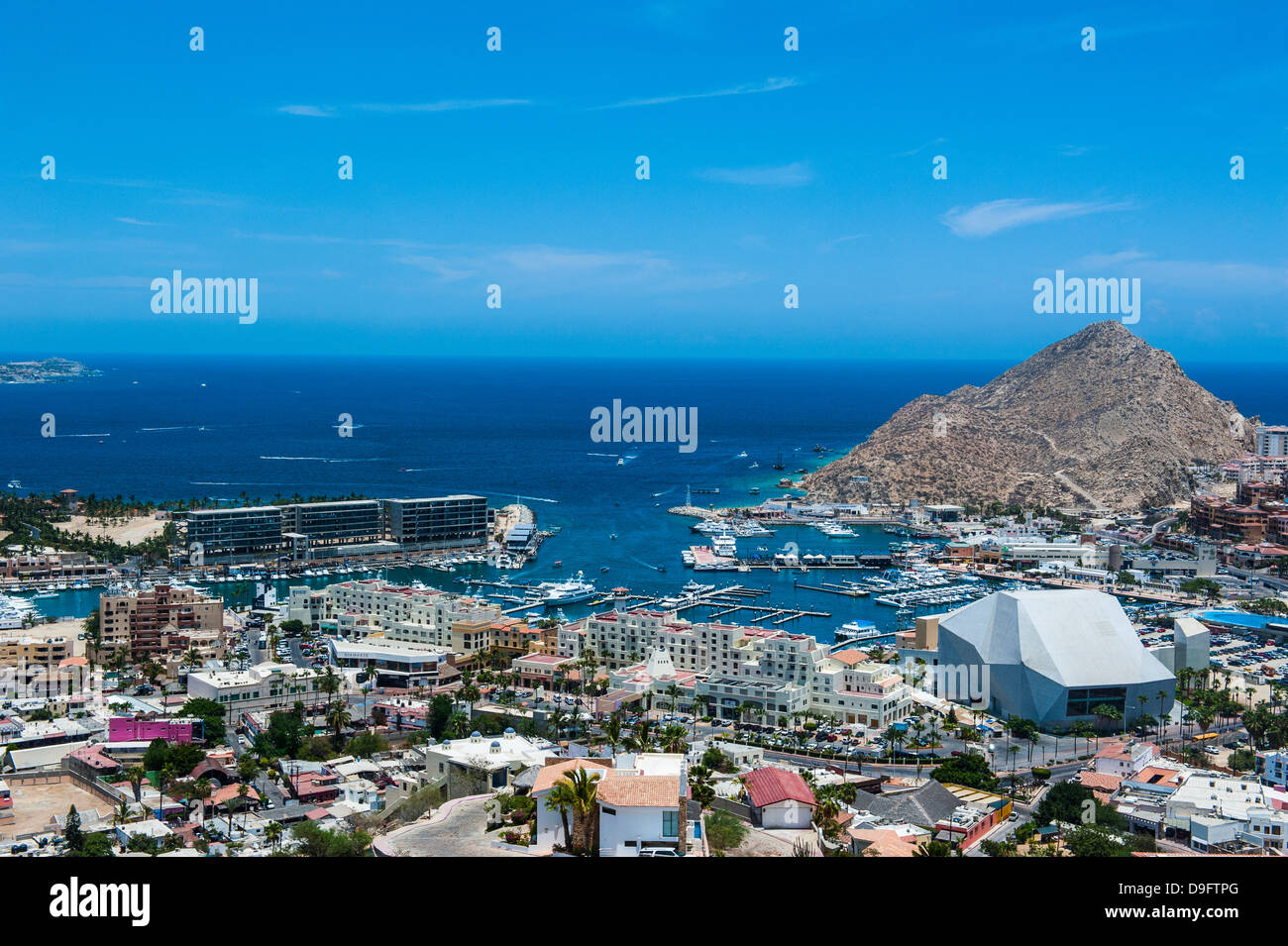 View over Los Cabos, Baja California, Mexico - Stock Image