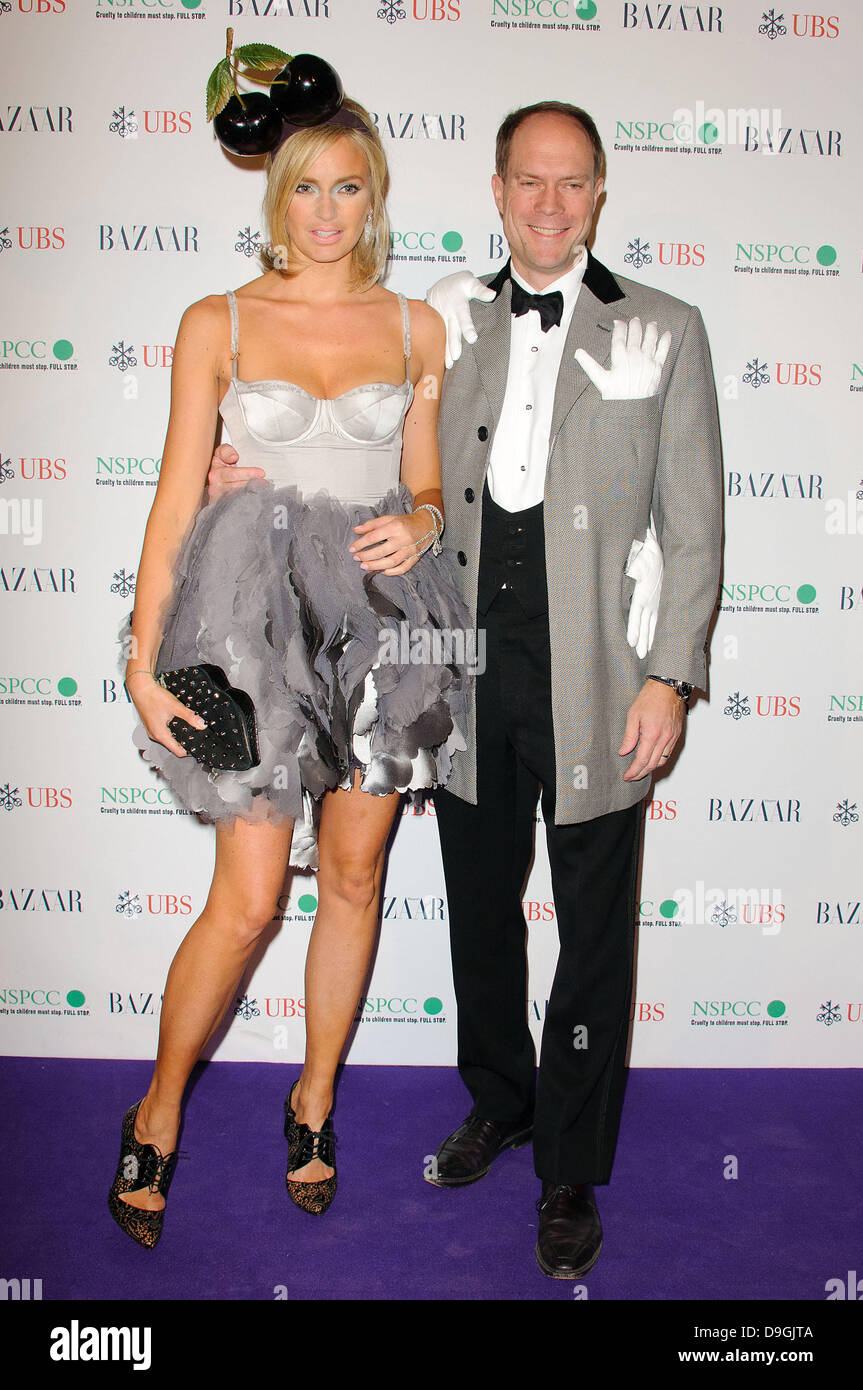 Harry Blane The Surrealist Ball in aid of NSPCC at The Banqueting House , London, England - 17.03.11 - Stock Image