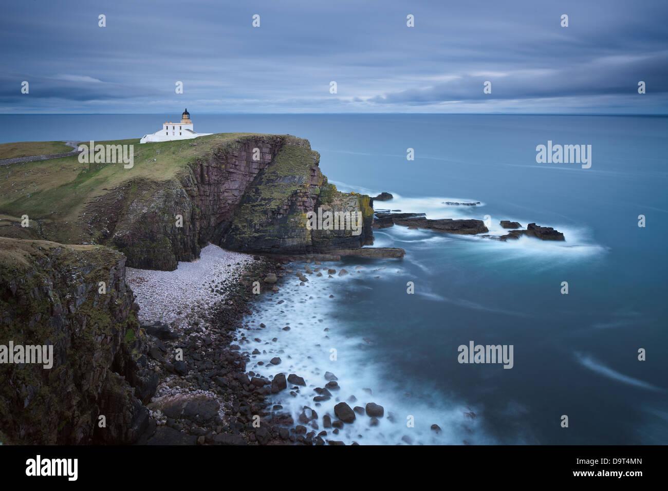 Stoer Head Lighthouse, Sutherland, Scotland, UK - Stock Image