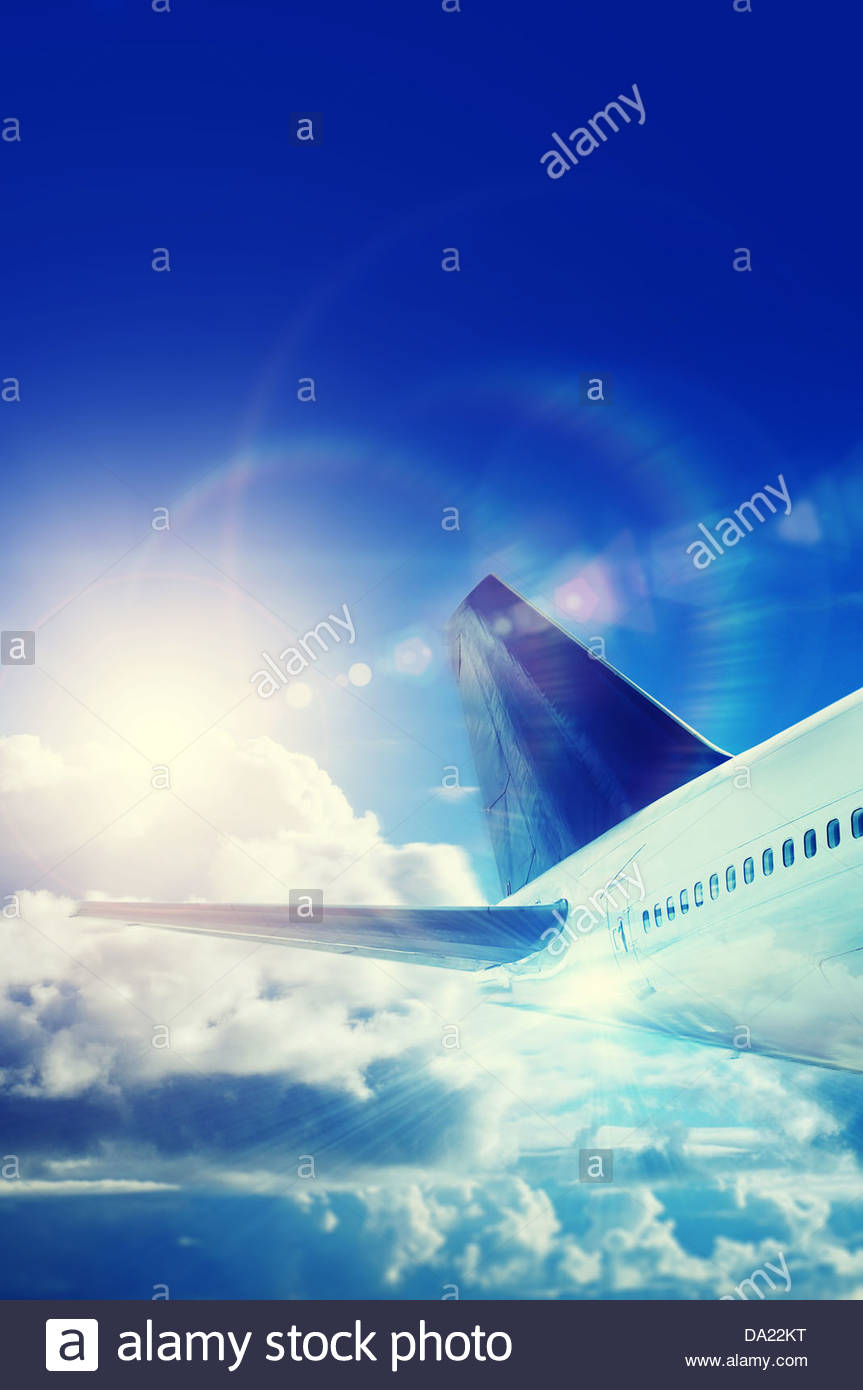 jet away - Stock Image