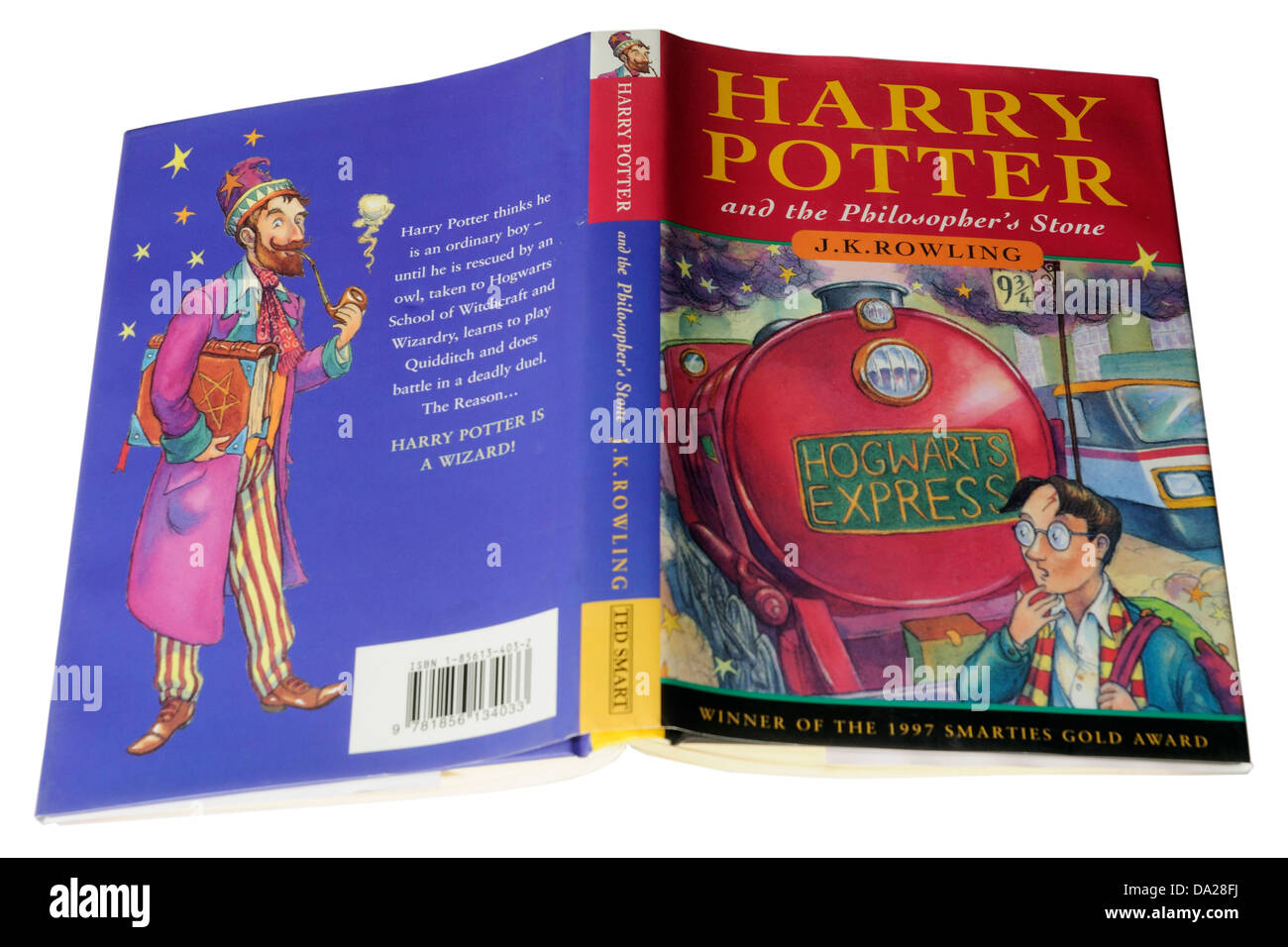 The 1st Harry Potter book Harry Potter and the Philosopher's Stone - Stock Image
