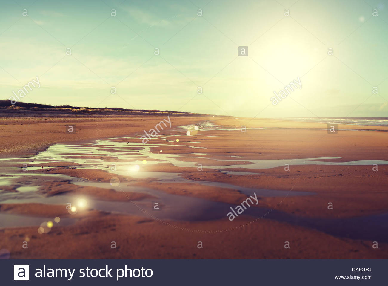 english beach - Stock Image
