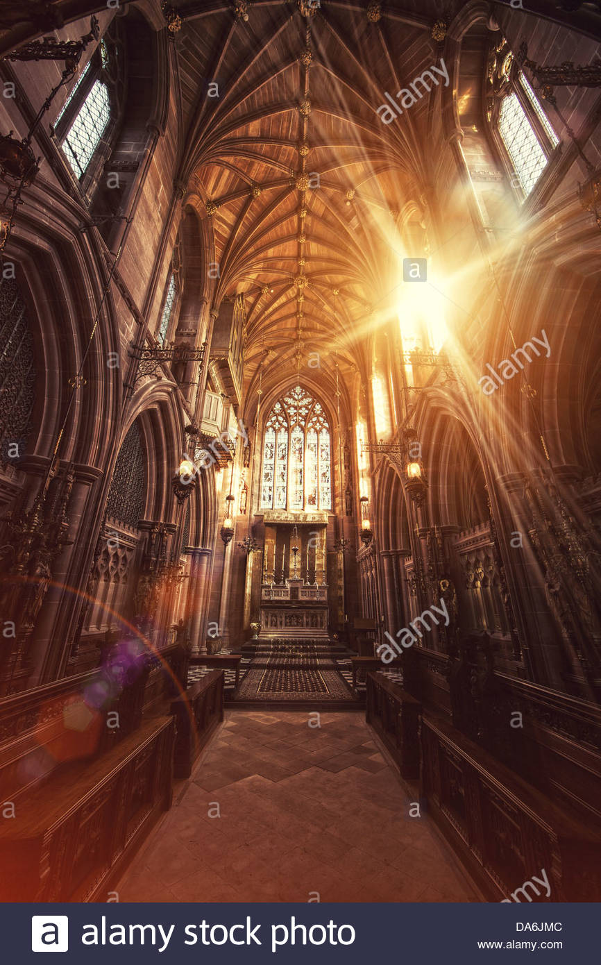chapel light - Stock Image