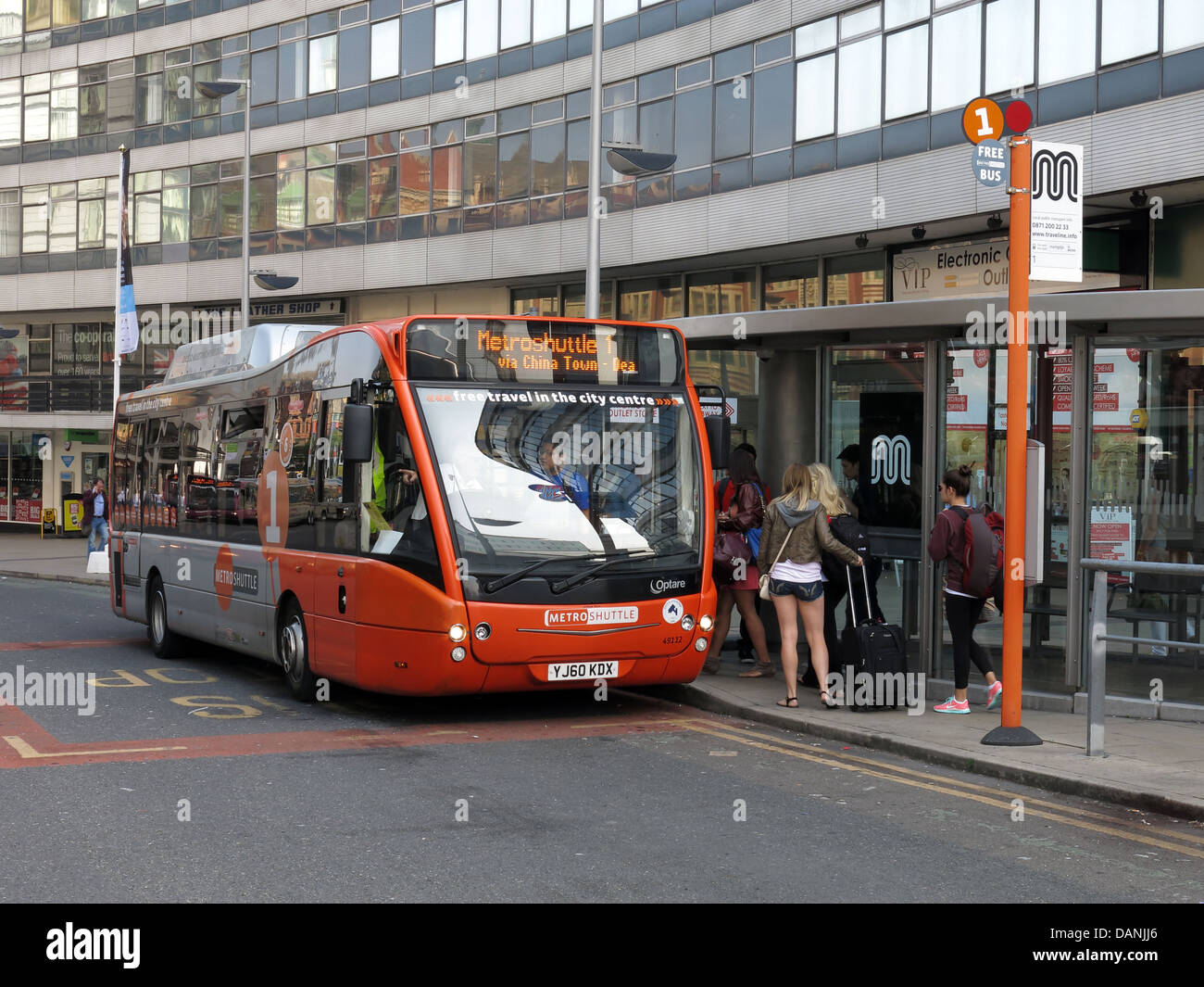 Greater,Manchester,city,transport,free,bus,the,MetroShuttle,Metroshuttle,is,a,free,city,centre,bus,funded,by,Manchester,City,Council,Transport,for,Greater,Manchester,NCP,and,Allied,London,The,service,links,all,the,city,centre,railway,stations,main,car,parks,and,many,bus,and,Metrolink,tram,TFGM,GM,gotonysmith,outside,a,bus,stop,bustop,Metroshuttle,is,a,free,city,centre,bus,funded,by,Manchester,City,Council,Transport for Greater Manchester,NCP,and,Allied,London.,The,service,links,all,the,city,centre,railway,stations,main,car,parks,and,many,bus,and,Metrolink,tram,stops.,Full,details,of,Metroshuttle,a map of all three routes,stopping,places,and,times,is,available,via,the,Transport,for,Greater,Manchester,website,Metroshuttle,buses,are,low-floor,easy,access,diesel-electric,hybrid,buses,that,you,can,hop,on,and,off,as,often,as,you,wish,Metroshuttles,are,free,buses,linking,the,main,rail,stations,car parks,shopping,areas,and,businesses,in,Manchester,city,centre.,Metroshuttle,buses,run,from,Piccadilly,Salford Central,Victoria,Oxford,Road,and,Deansgate,rail,stations.,There,are,three,circular,routes,covering,the,main,areas,in,the,city