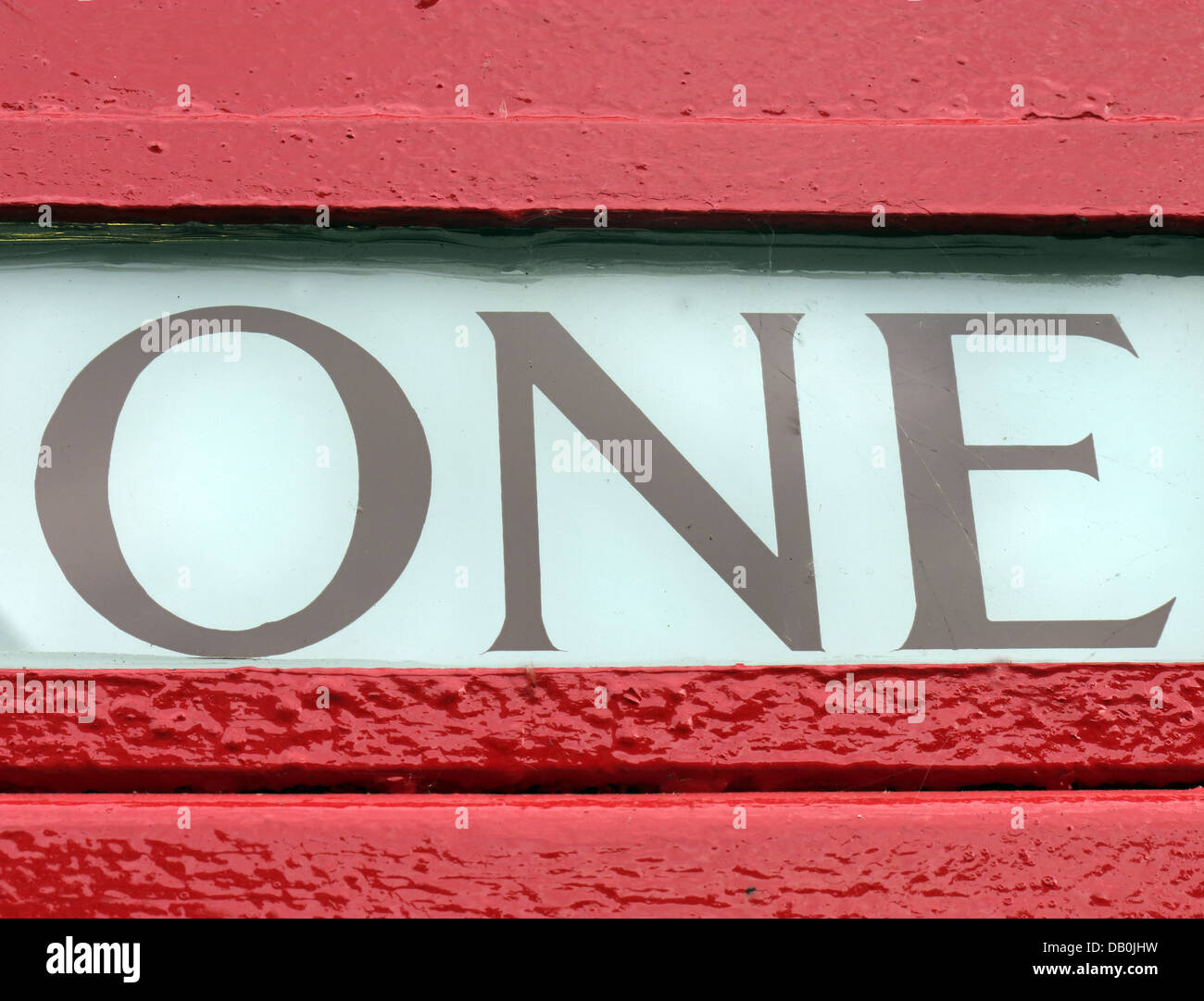 Detail,of,One,(1),from,a,red,British,classic,telephone,box,numberone,first,integer,white,black,whiteblackred,simple,GB,great,britain,english,old,fashioned,eccentric,England,icon,iconic,design,Gotonysmith,Buy Pictures of,Buy Images Of