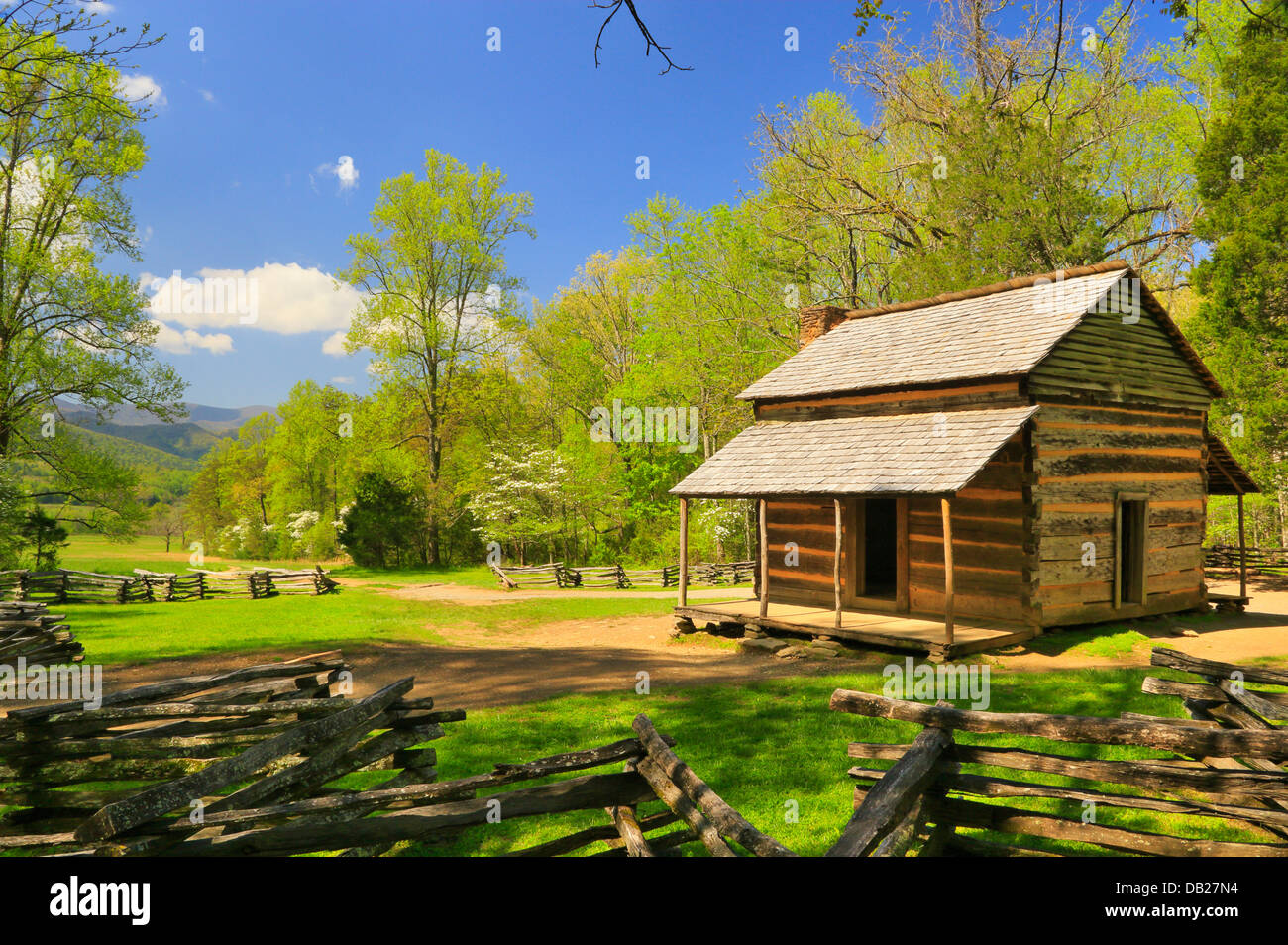 John Oliver Cabin Cades Cove Great Smoky Mountains National Park