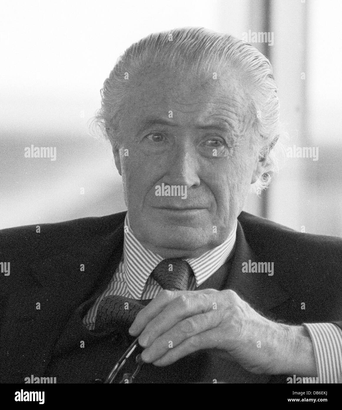 Duncan Edwin Sandys, Baron Duncan-Sandys, CH PC was a British politician and minister in Conservative governments - Stock Image