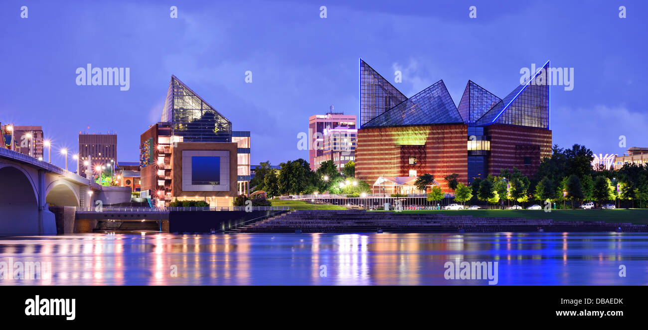 Downtown Chattanooga, Tennessee, USA. - Stock Image