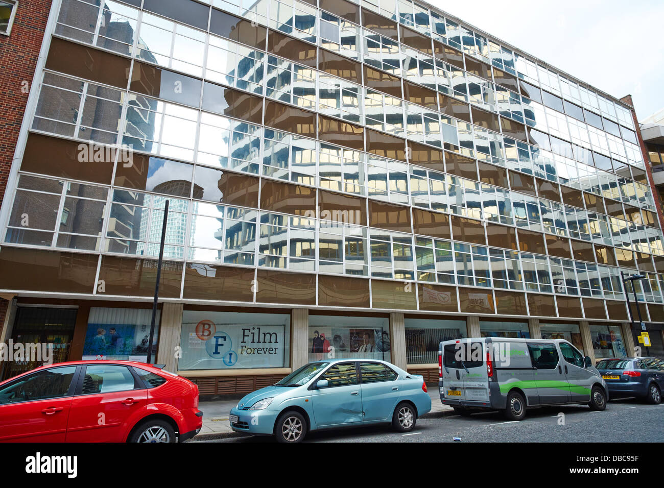 BFI British Film Institute Offices Stephen Street London UK - Stock Image