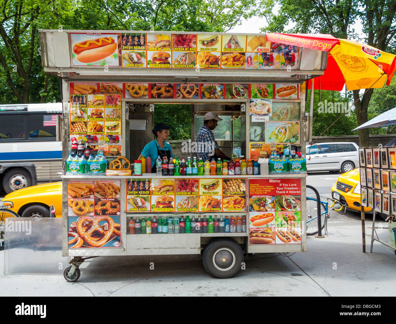 Hot Dogs Food Truck Nyc
