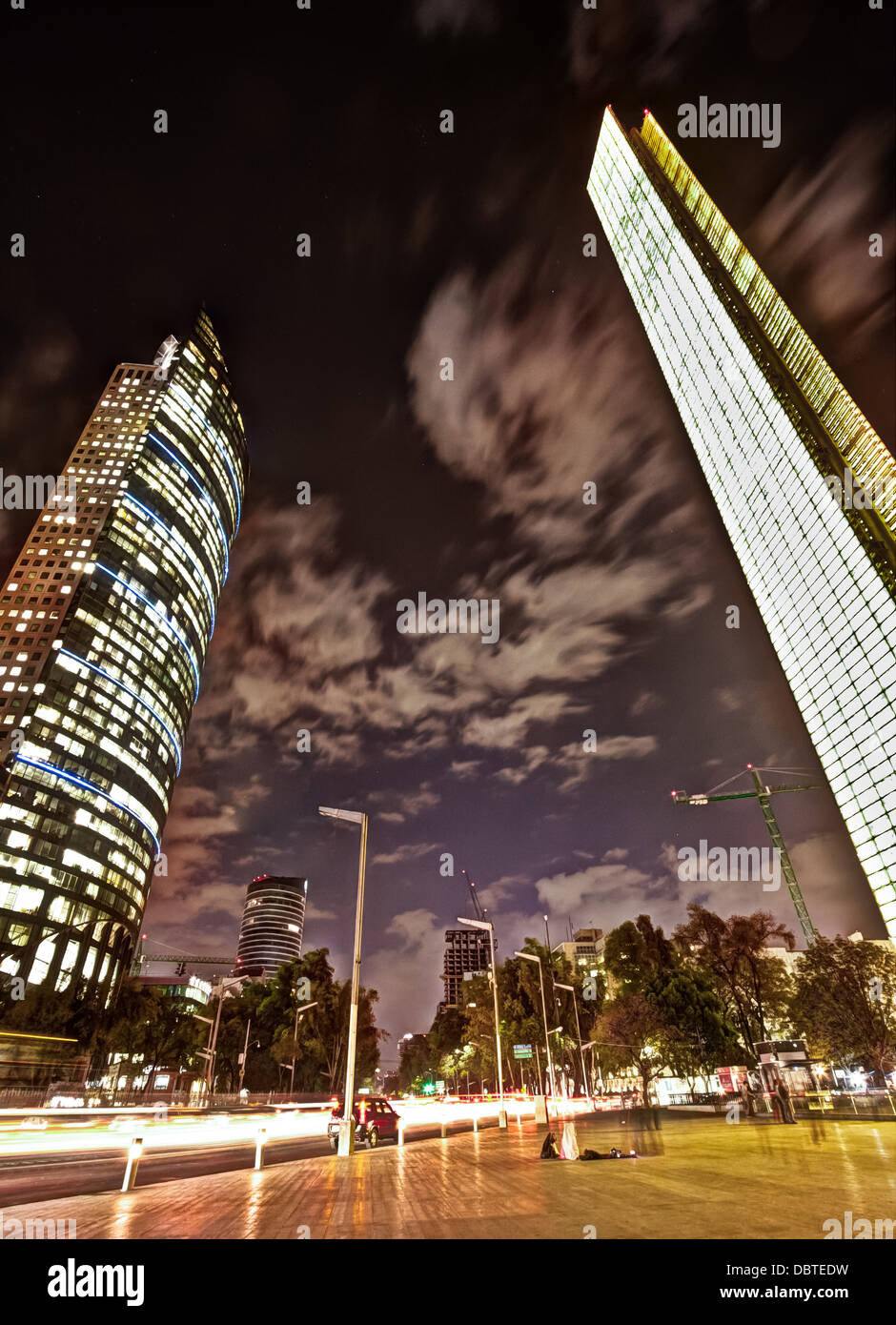 Picture taken in Mexico City - Stock Image