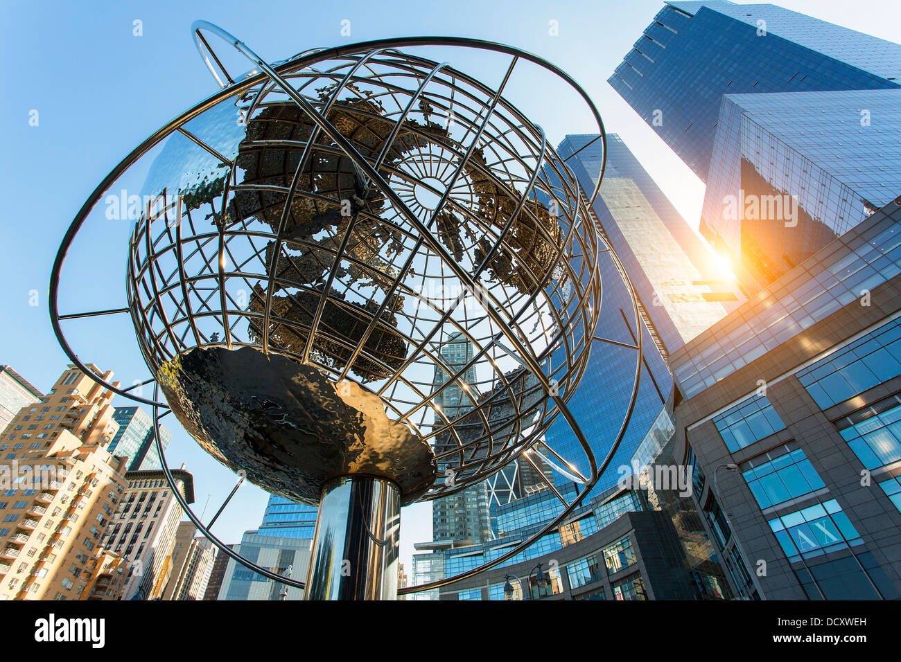 New York City, Columbus Circle - Stock Image