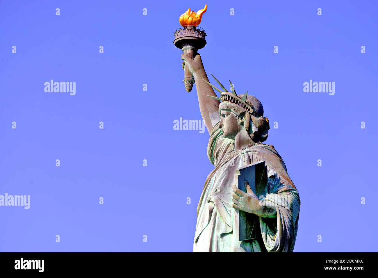 Statue of Liberty in New York City. - Stock Image