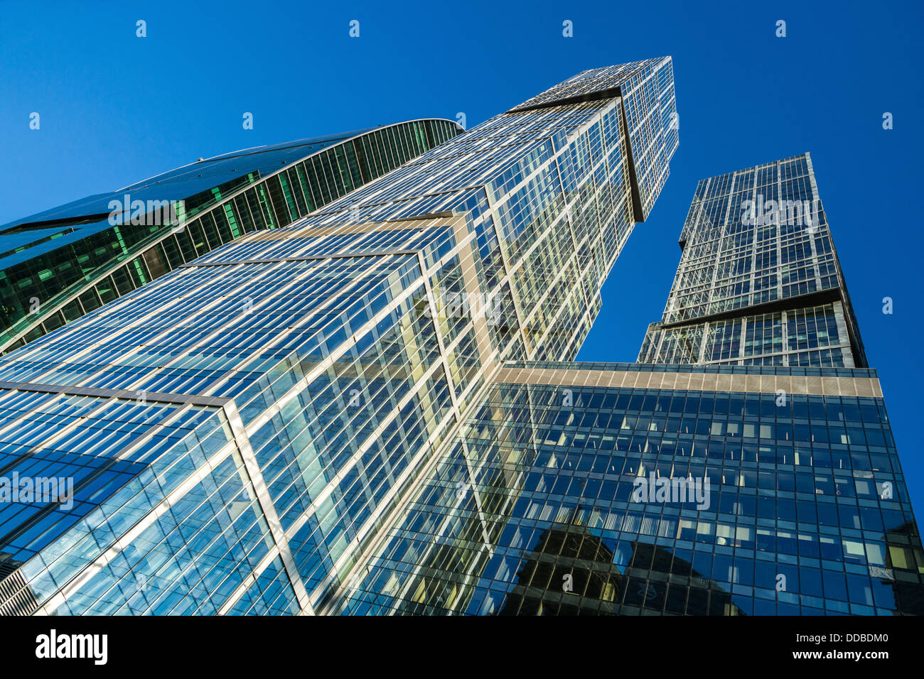 Moscow International Business Center (Russia) - Stock Image