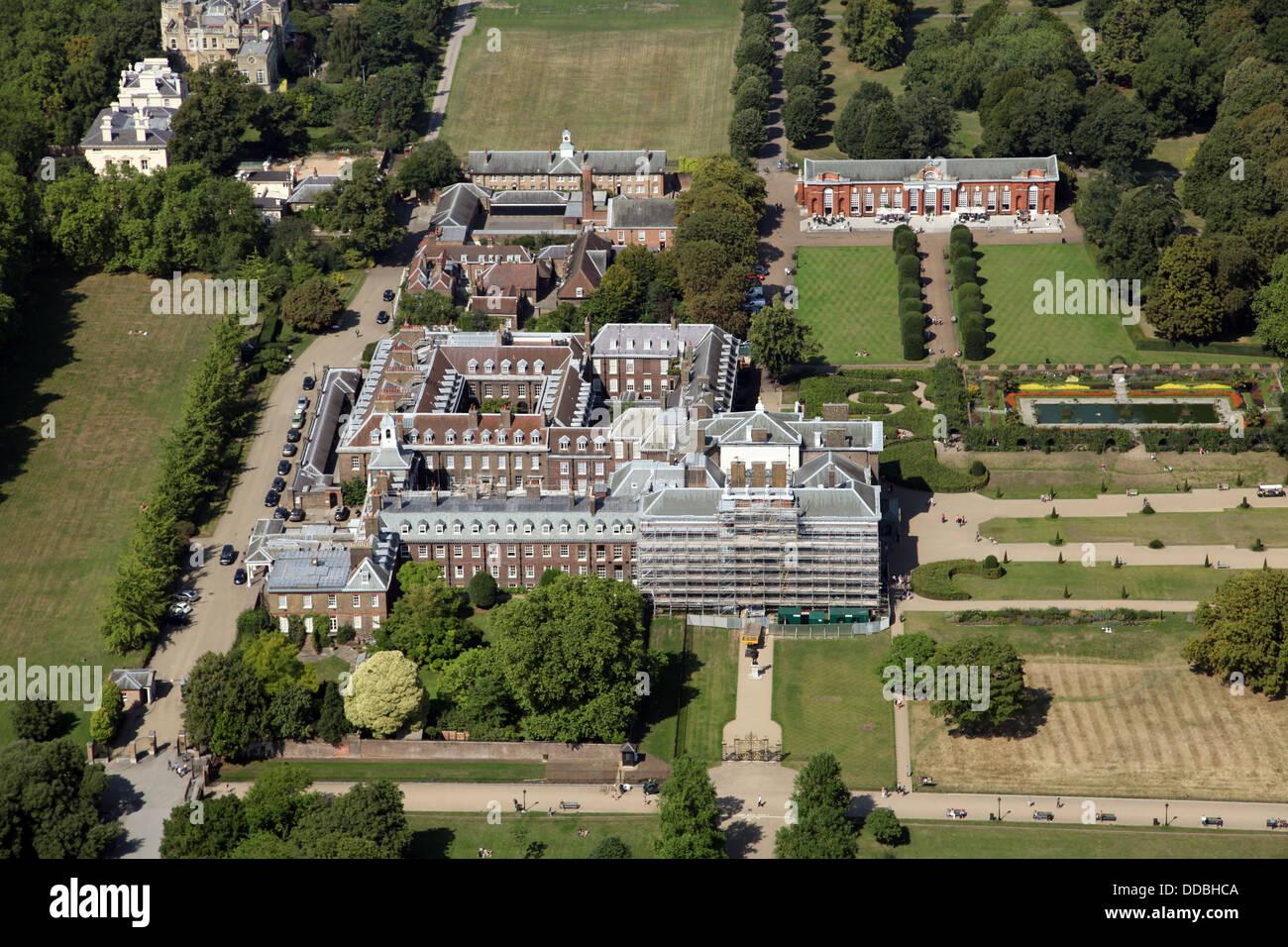 Kensington Palace Floor Plan Aerial View Of Kensington Palace In London Home Of Prince