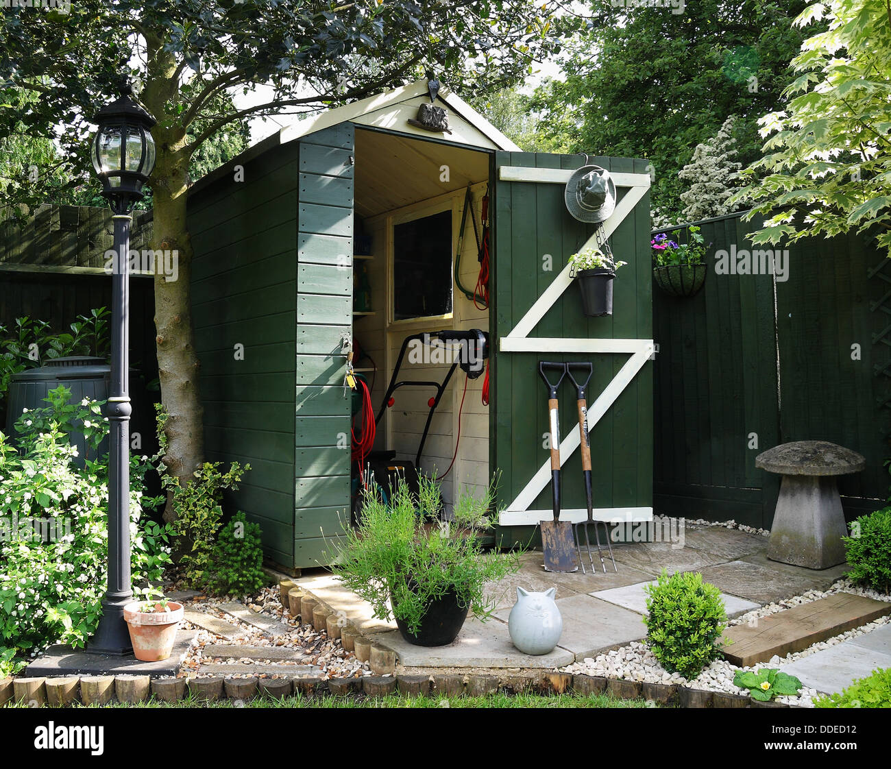 Victorian Shed Stock Photos & Victorian Shed Stock Images - Alamy