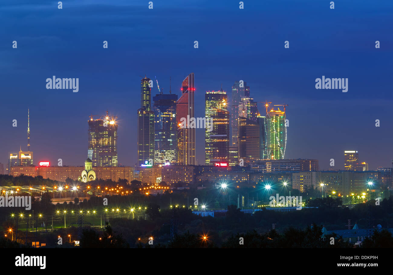 Moscow City - Stock Image