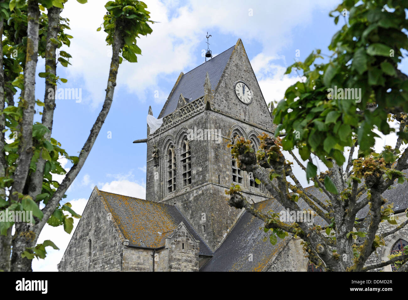 the-church-at-sainte-mre-glise-normandy-