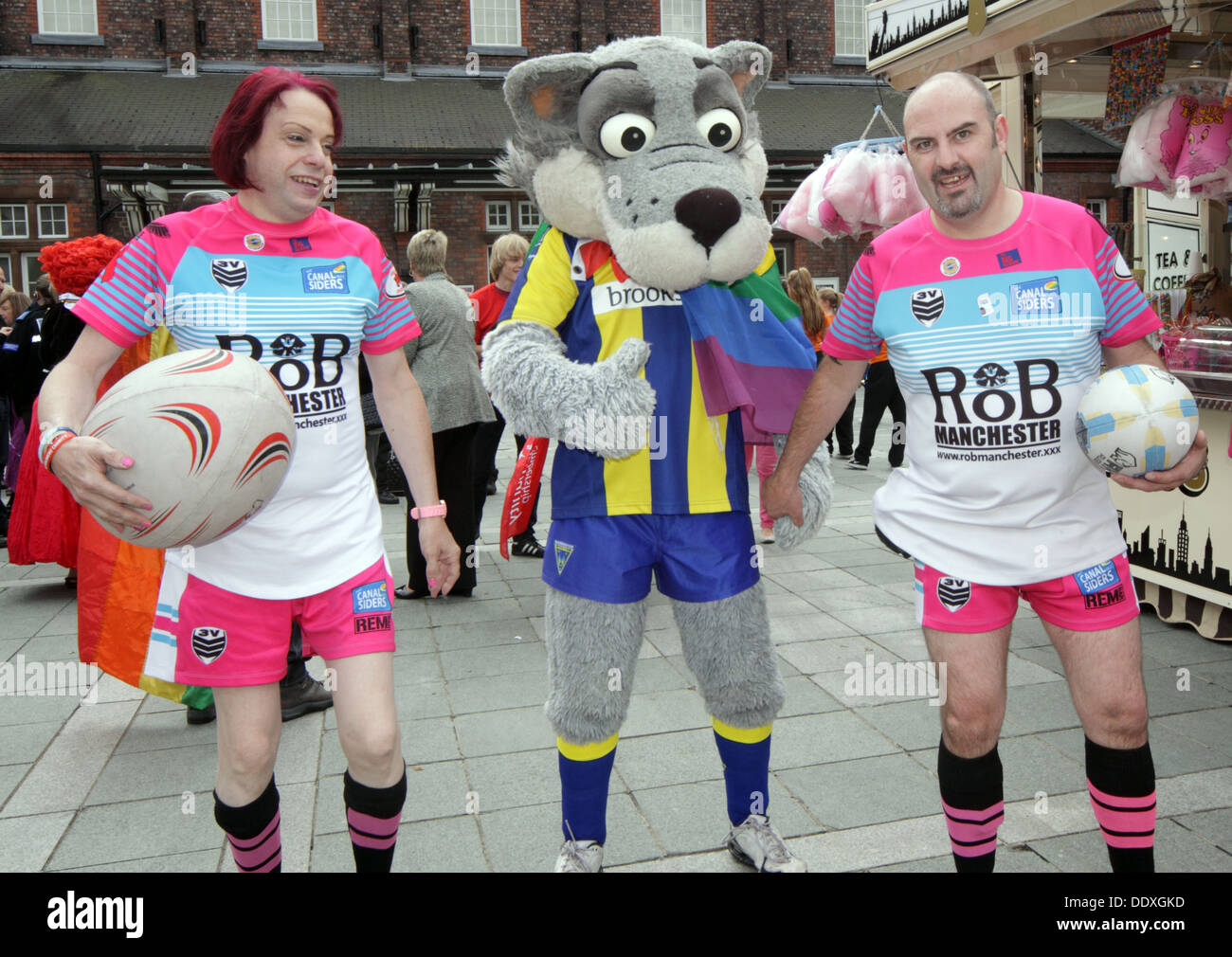 gay,homosexual,party,celebration,rugby,Wolf,Wolves,wolfie,rugger,ROB,Manchester,Canal,st,street,United Kingdom,Warrington Wolves,GoTonySmith,@HotpixUK,Buy Pictures of,Buy Images Of,Images of,Stock Images