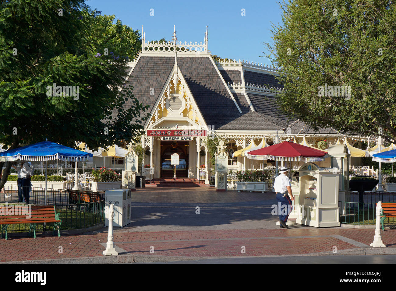 Disneyland, Jolly Holiday, Bakery Cafe on Main Street, Anaheim, California - Stock Image