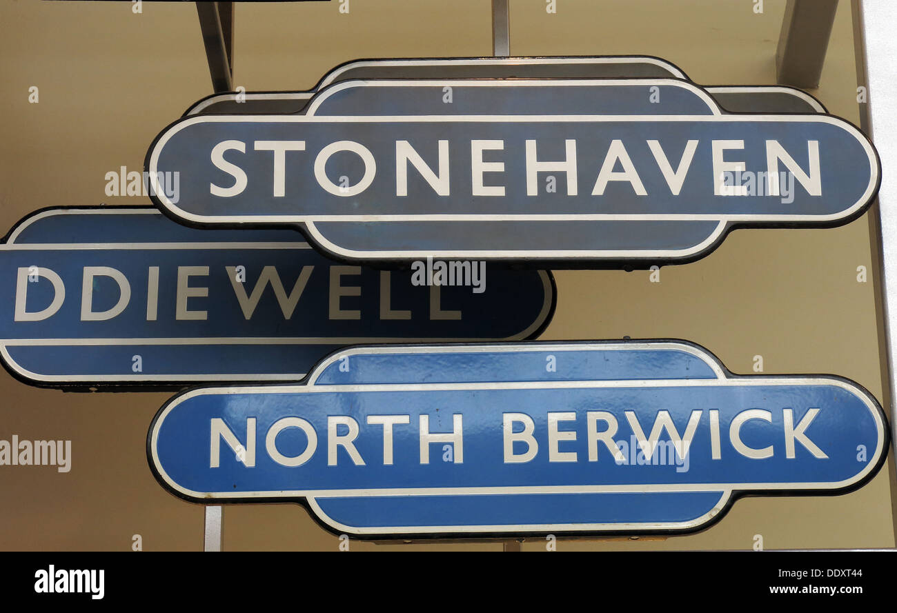 Scottish,Scotland,UK,GB,Great,Britain,British,rail,BR,history,historic,Old,Scots,railway,station,signs,in,blue,and,grey,gray,Dr,Beeching,cuts,cut,destroyed,train,network,rail,Gotonysmith,transport,stations,Buy Pictures of,Buy Images Of,Scotlands History,Scotlands History