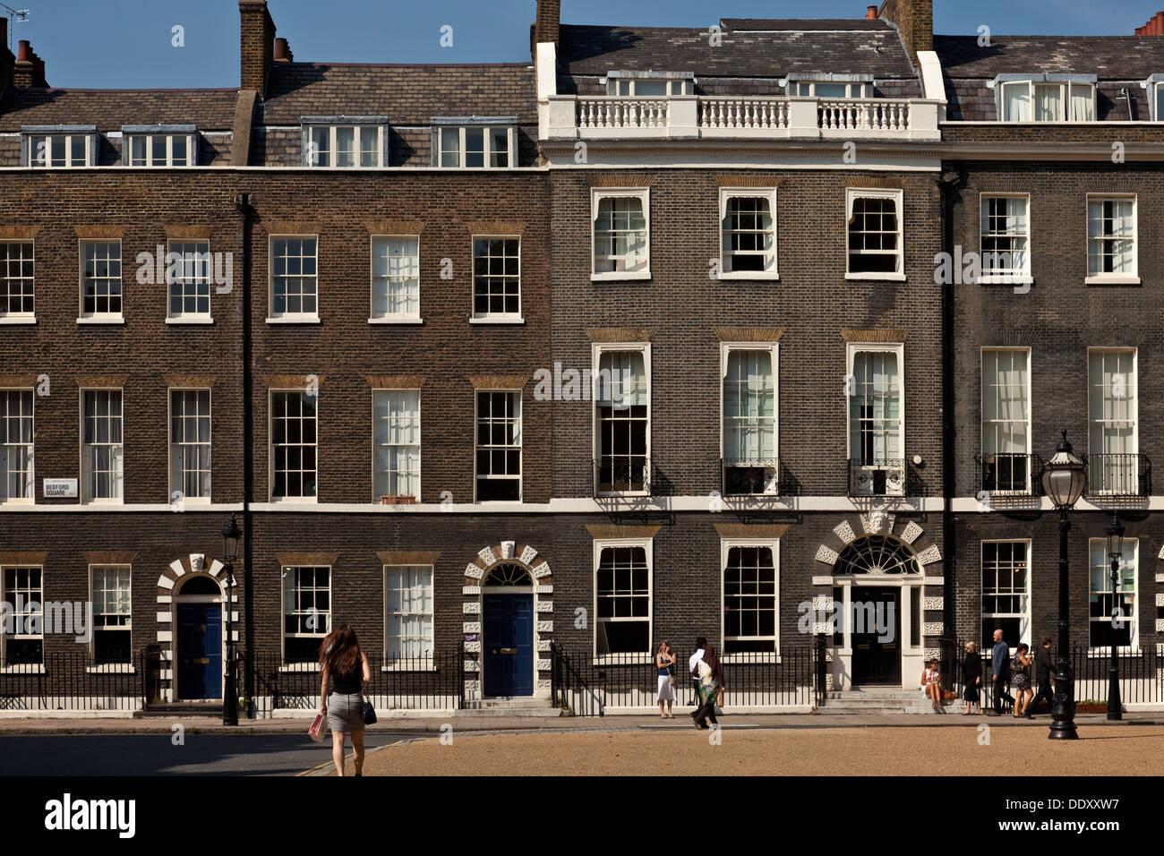 Georgian Houses Bedford Square London England