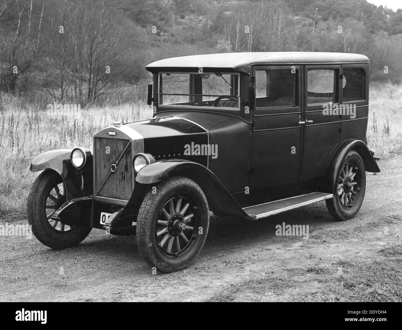 Volvo OV4 car, 1927. The first car built by the Volvo company Stock ...