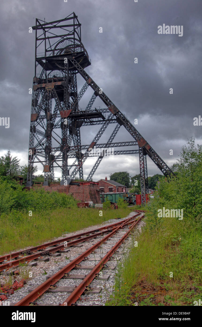 frame,dark,moody,sky,cloud,lancashire,GB,great,Britain,British,Coal,face,coalface,old,disused,abandoned,mine,shaft,mineshaft,mining,UK,United,Kingdom,board,BCB,NCB,national,NUM,union,of,nationalised,industry,mines,Corporation,Astley,Green,Chat,Moss,museum,headgear,head,gear,Tyldesley,M29,7JB,M297JB,Gotonysmith,nationalisation,ChatMoss,historic,history,decline,declining,archeology,coalfield,field,Red,Rose,Steam,Society,Limited,redrose,registered,charity,Buy Pictures of,Buy Images Of