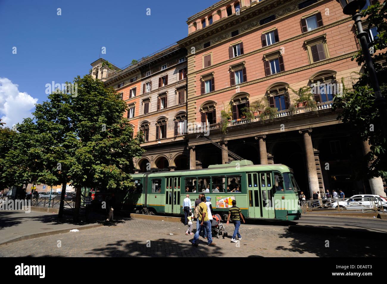 italy, rome, piazza vittorio emanuele II - Stock Image