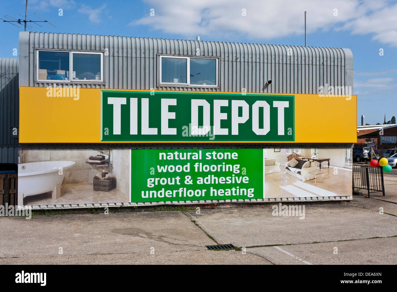 Tile Depot DIY home improvements store Stock Photo: 60461261 - Alamy