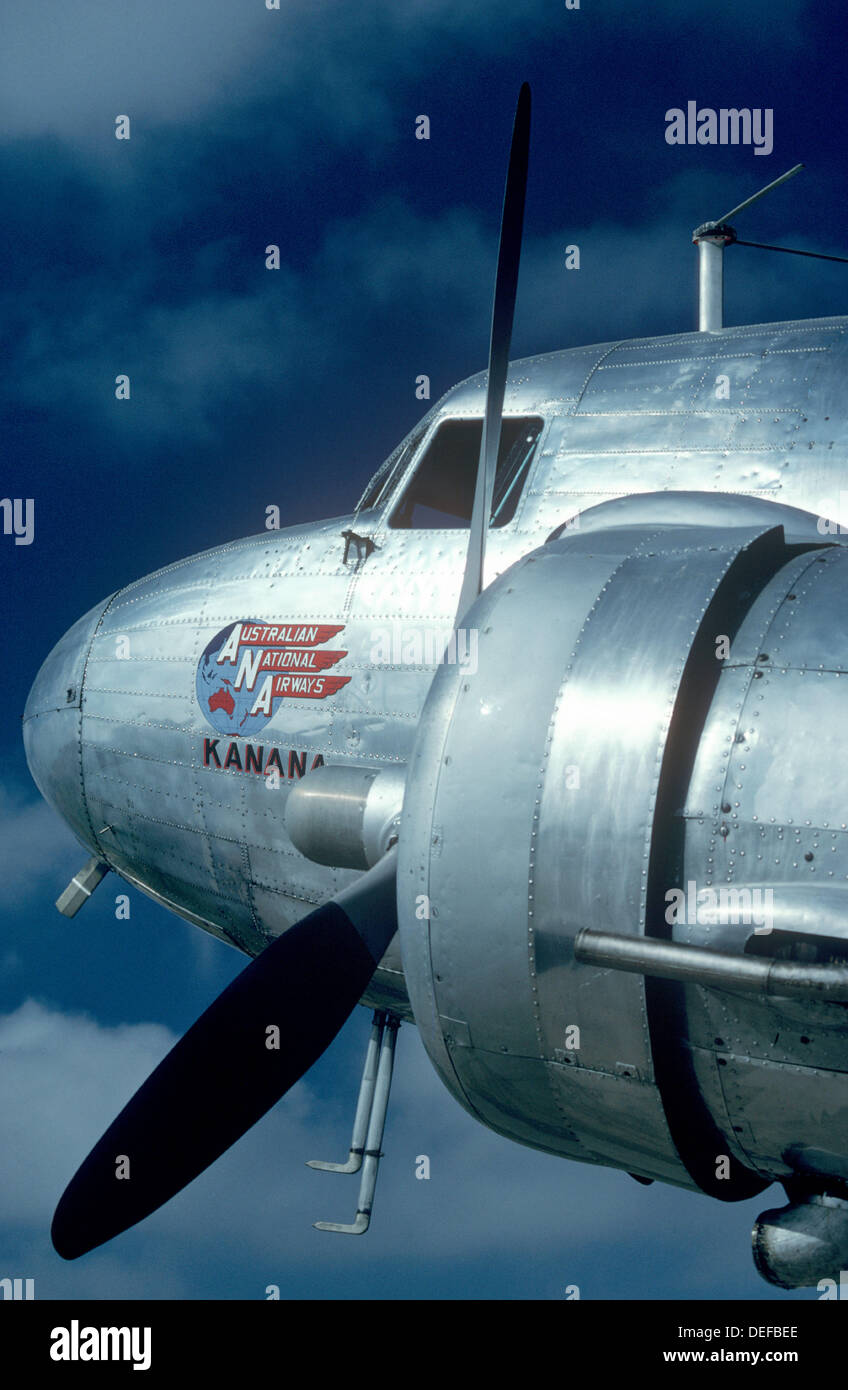 McDonnell Douglas DC-3 aircraft - Stock Image