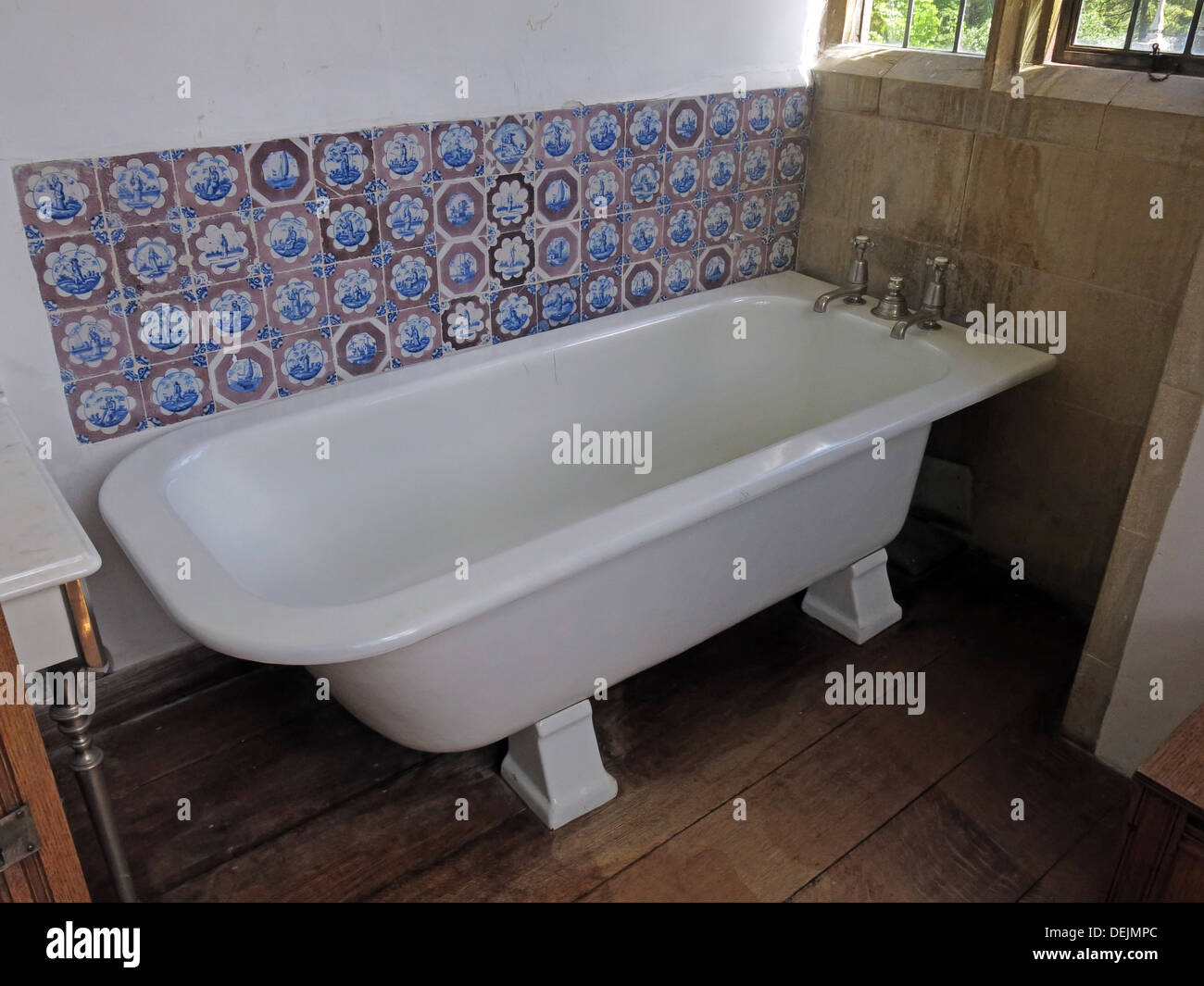 Barrington,Court,Ilminster,Somerset,UK,TA19,0NQ,england,english,property,properties,places,to,visit,for,tourists,tourist,traveller,travelers,travelers,attraction,attractions,garden,interior,baths,tape,old,antique,hot,cold,plug,sink,sinks,white,vitreous,vitrious,enamel,tiles,tile,old,plumbing,Gotonysmith enamal SW south west nr near Yeovil,Buy Pictures of,Buy Images Of