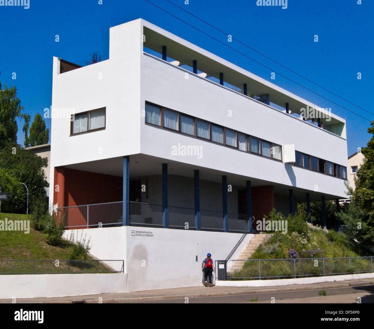 le-corbusier-house-1927-rathenaustrasse-weissenhofsiedlung-weissenhof-DF5RP0.jpg