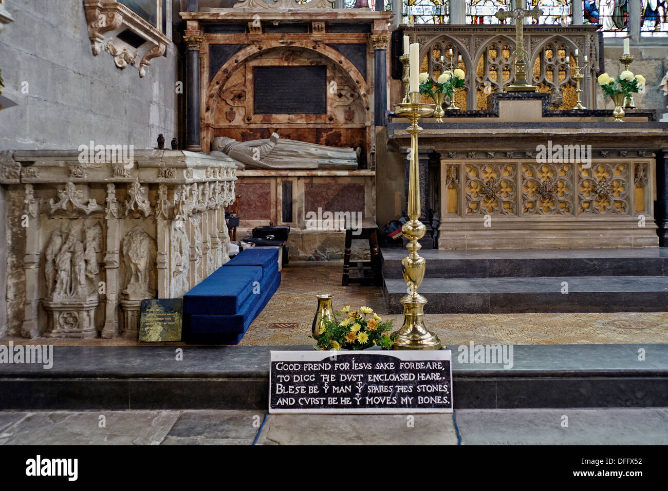 william-shakespeares-grave-and-monument-