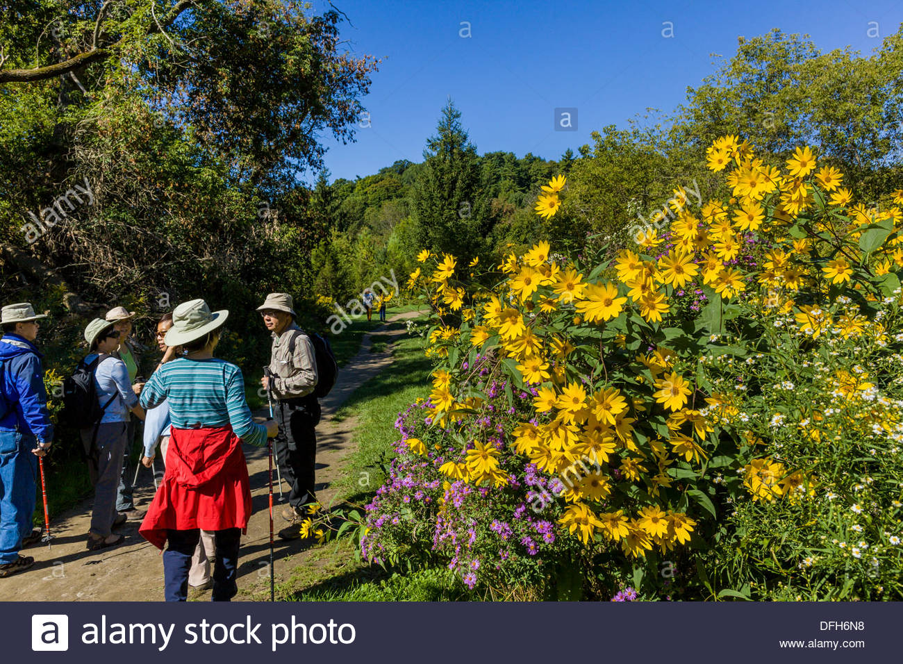 hiking-seniors-group-on-trail-beside-gia