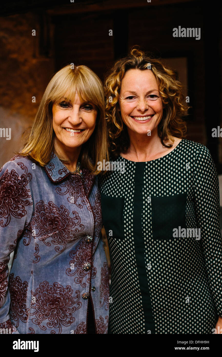 Kate Humble and Lynn Faulds-Wood - Stock Image