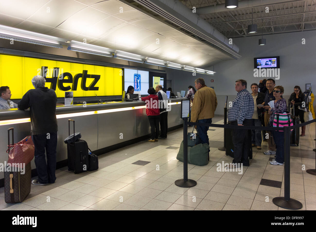 Hertz Car Hire New York
