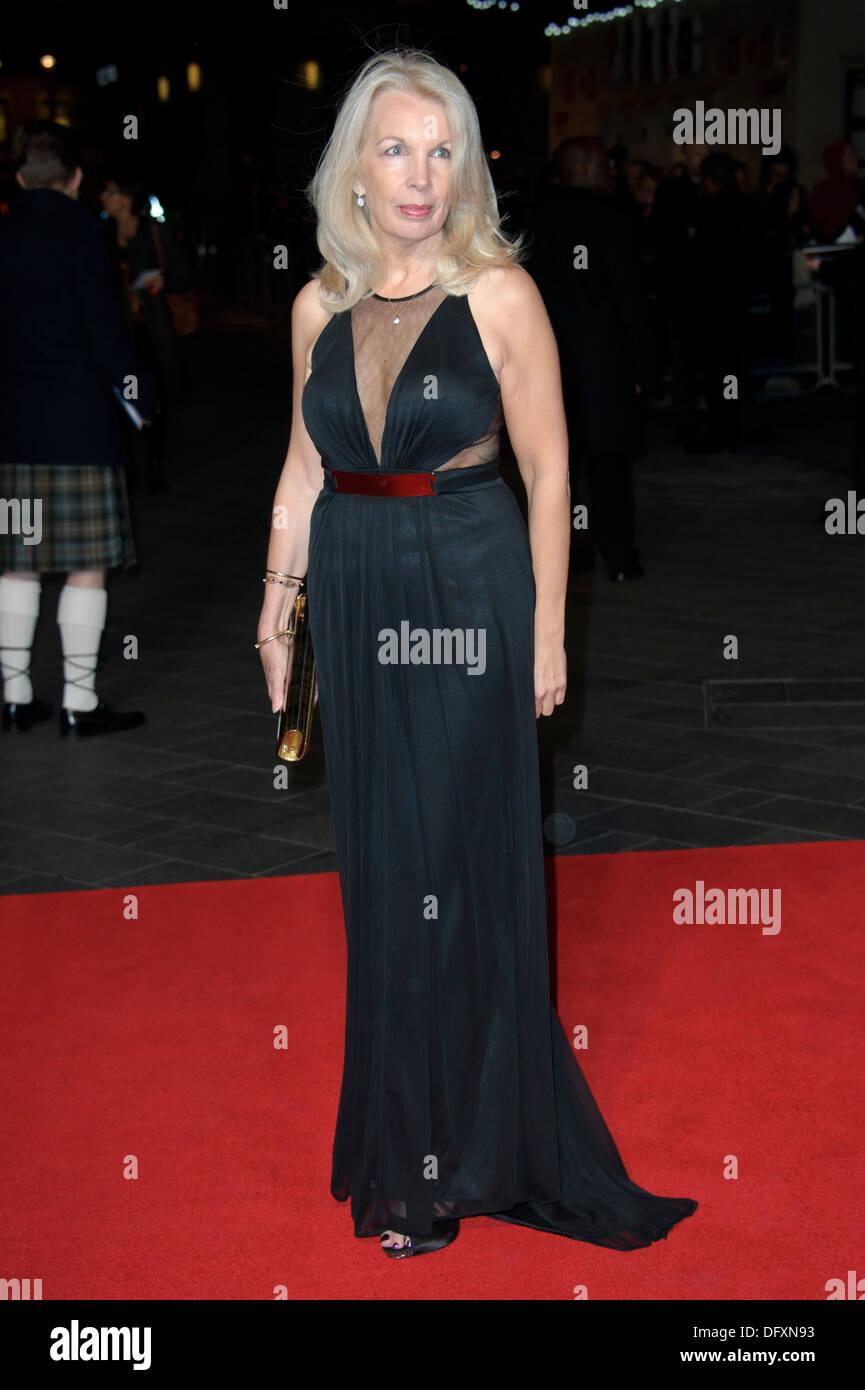 Amanda Nevill arrives for the BFI London Film Festival European Premiere of Captain Phillips, at a central London - Stock Image