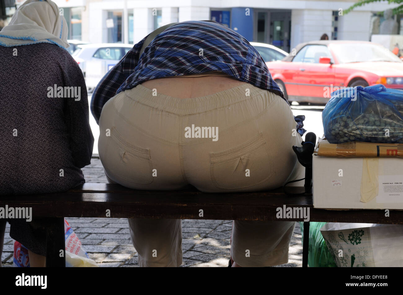 fat bum stock photos & fat bum stock images - alamy